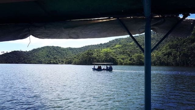 naturaleza en cuba lago hanabanilla
