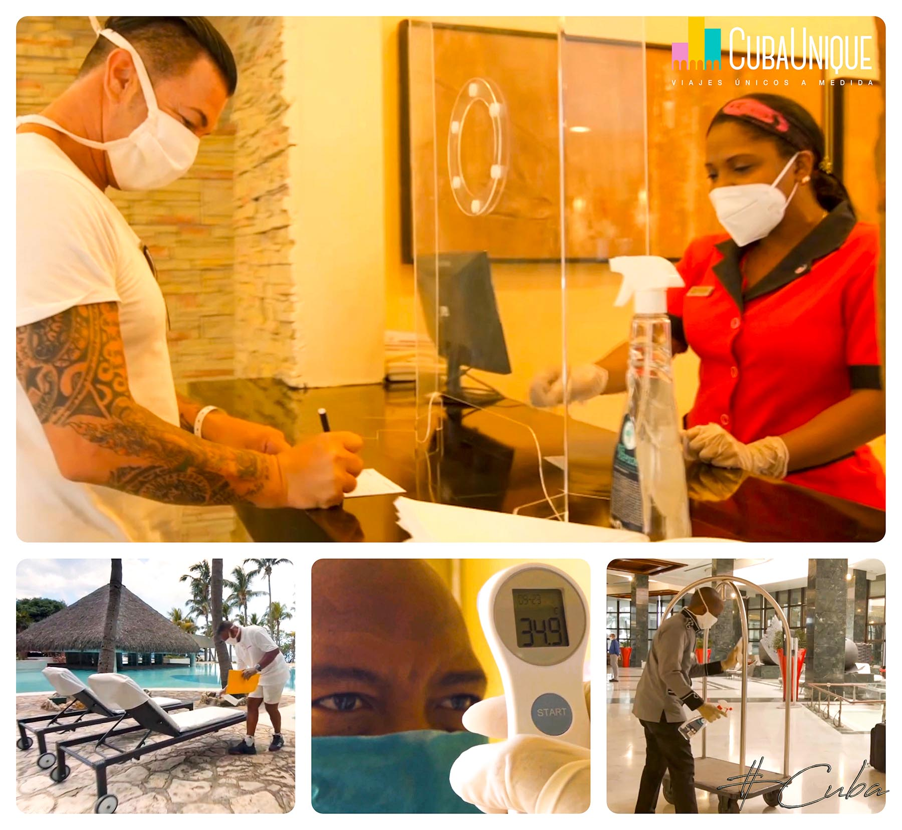 Medidas actuación Coronavirus en Cuba